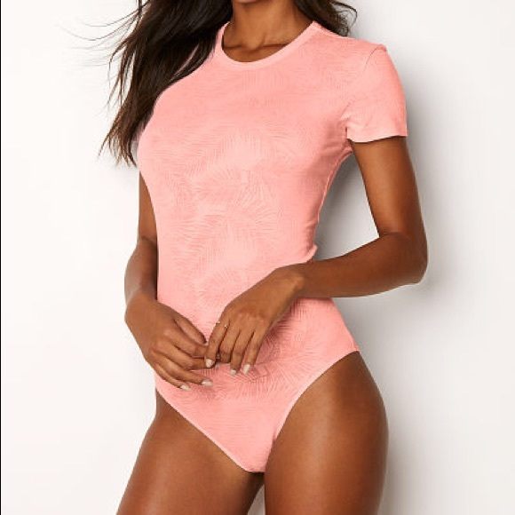 ca88358170 Victoria Secret Palm Bodysuit